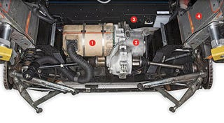 Illustration for article titled A Peek Under The Tesla Roadster's Hood