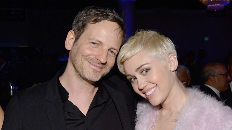 Image of Dr. Luke with Miley Cyrus via Getty