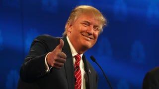 GOP presidential candidate Donald TrumpJustin Sullivan/Getty Images