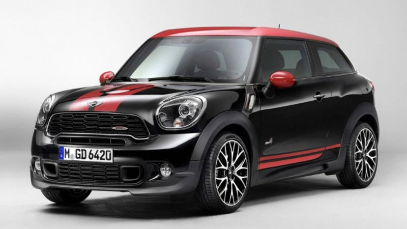 Today The Mini Paceman John Cooper Works That Is Supposed To Be Unveiled In Detroit Leaked For Those Of You Need Explanation