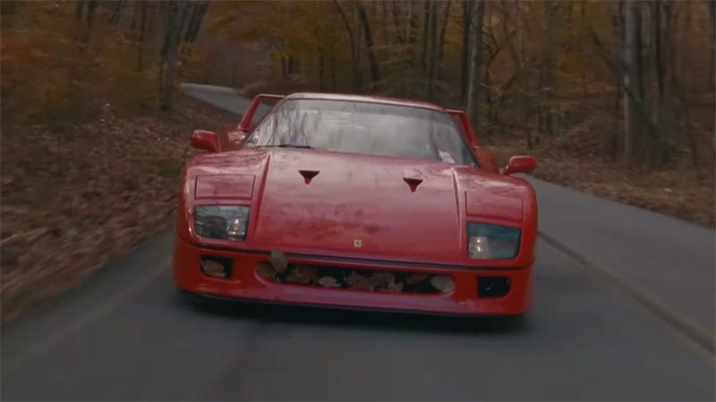 Illustration for article titled Never Pass an Opportunity to Hear a Ferrari F40