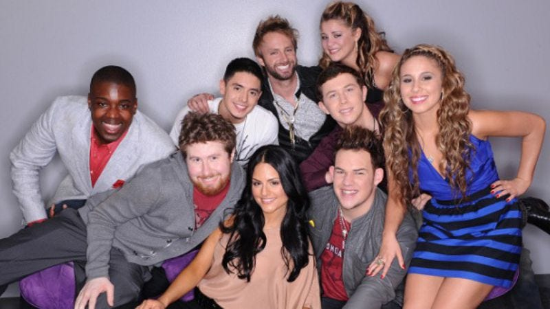 """Illustration for article titled American Idol: """"9 Finalists Compete"""""""