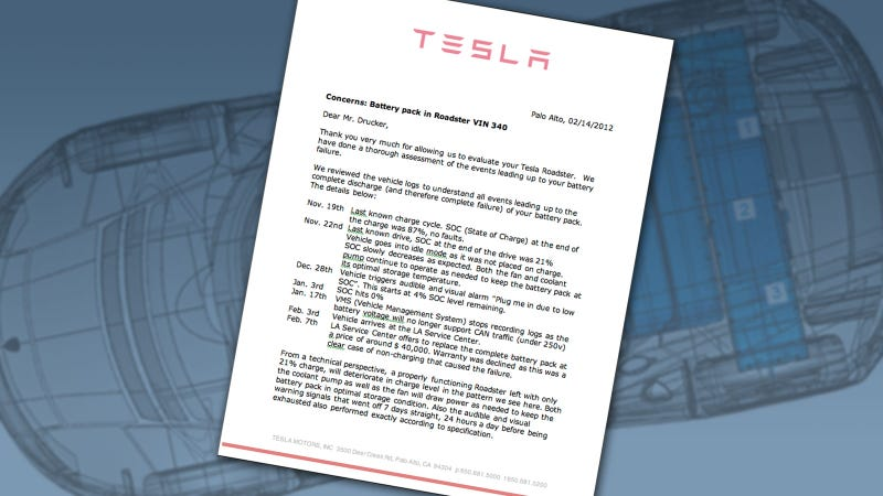Illustration for article titled Tesla Documents Gallery