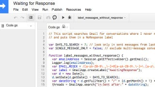 Find Unanswered Emails with a Google Apps Script