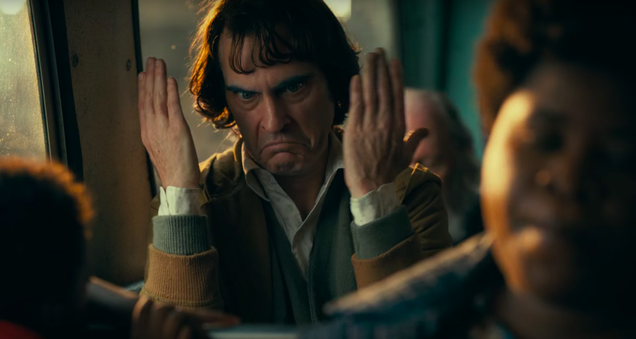 Joaquin Phoenix has nothing but negative thoughts in the new Joker trailer