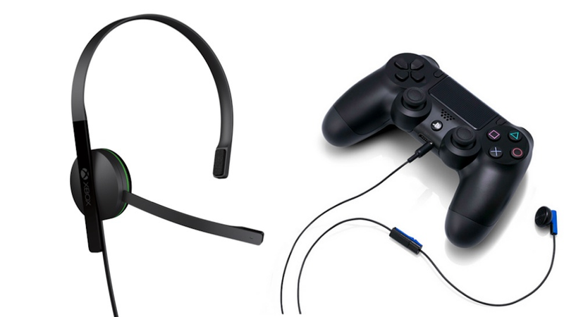 The Xbox One Vs  PS4 Headset War Begins