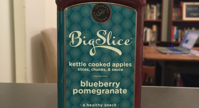 Illustration for article titled Bougie Food Review: Blueberry Pomegranate Kettle Cooked Apples