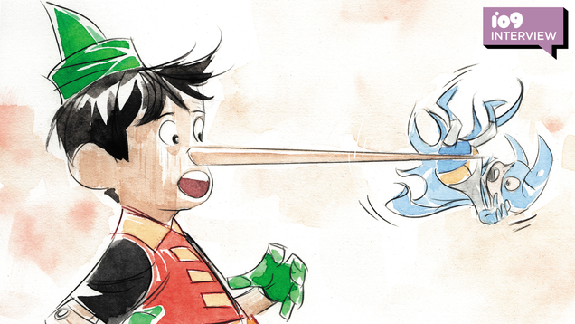 The Team Behind Gotham s New Fairy Tale Anthology Tells Us Why Damian Wayne Is the Perfect Pinocchio