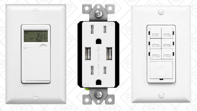 TOPGREENER Light Switch and Power Outlet Sale | Amazon