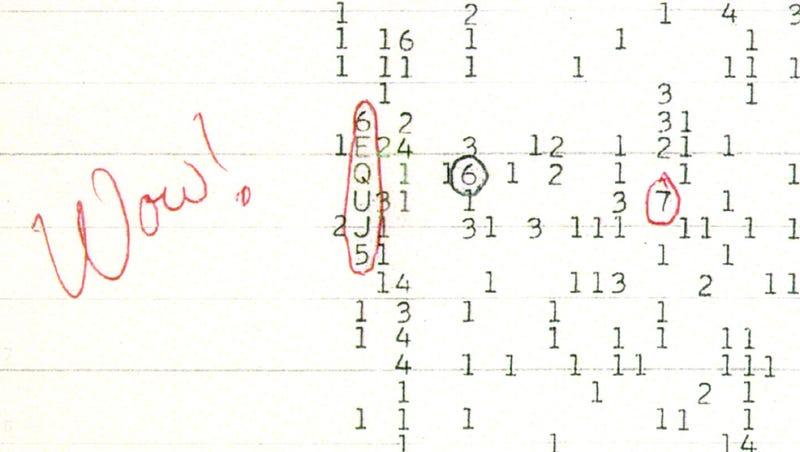 Revelan el secreto de la famosa señal ¡Wow! extraterrestre