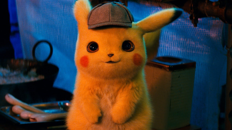 Detective Pikachu has the snazziest hat.