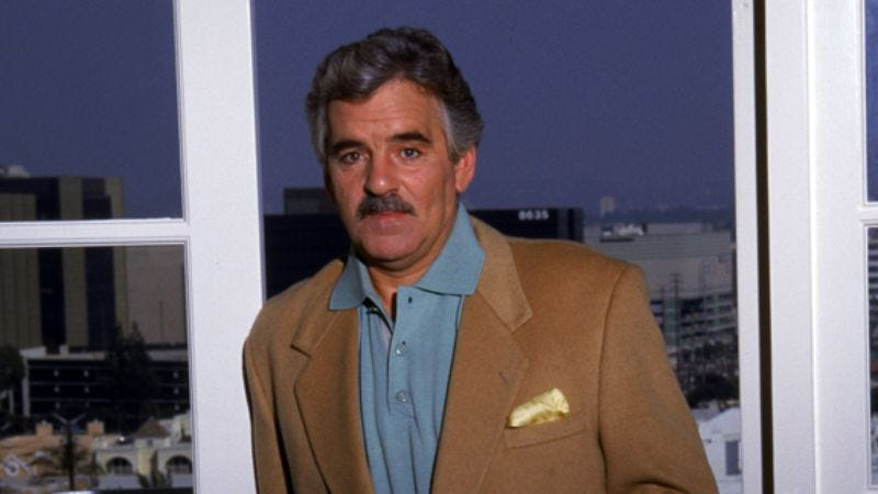 Illustration for article titled Dennis Farina