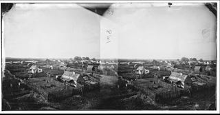 Grand Contraband Camp, or Slabtown, Hampton, Va., December 1864Library of Congress