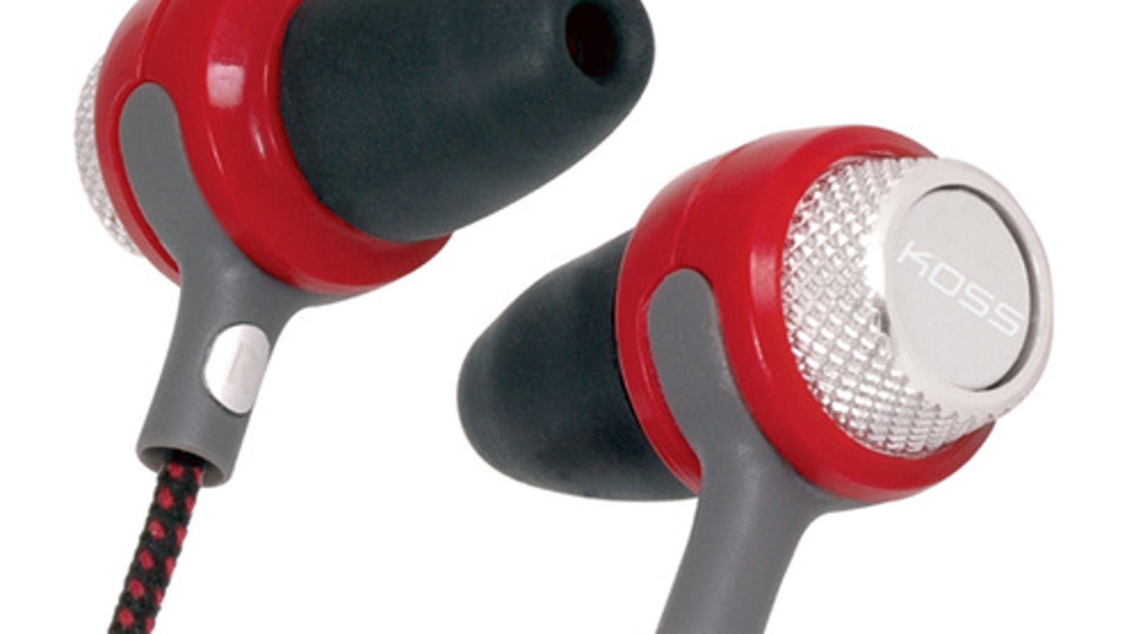 jvc gummy inner earbuds - Screw-to-Fit Koss Earbuds Fill Up Your Head-Holes