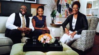 Ash Cash, Tonya Rapley and The Root's contributing editor Harriette ColeHarriette Cole Media