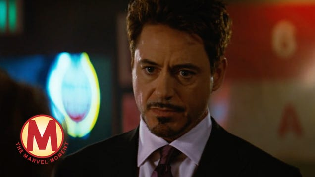 A Tony Stark cameo opens the door on a much wider universe