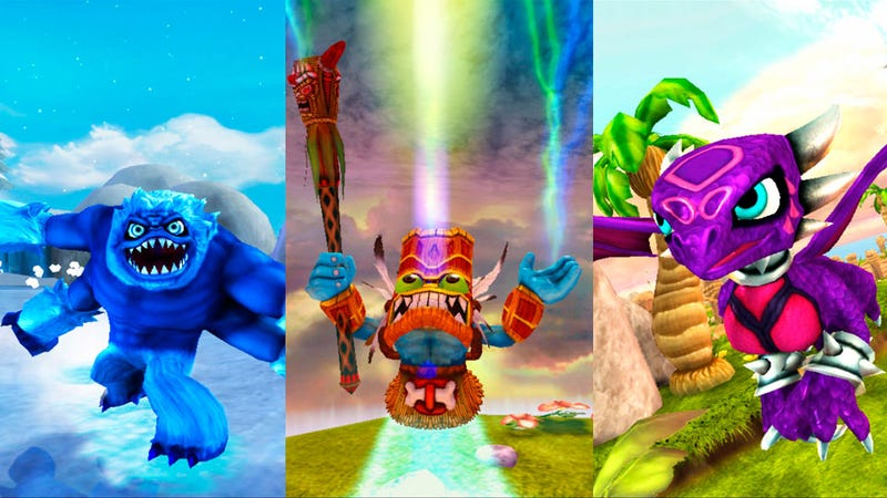 Illustration for article titled Three New Skylanders Enter the Retail Ring