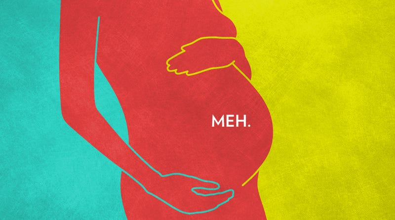 Illustration for article titled Are You Ambivalent About Pregnancy? Join the Club.