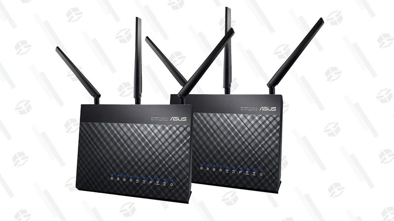 2-Pack ASUS RT-AC68U Routers | $200 | Amazon
