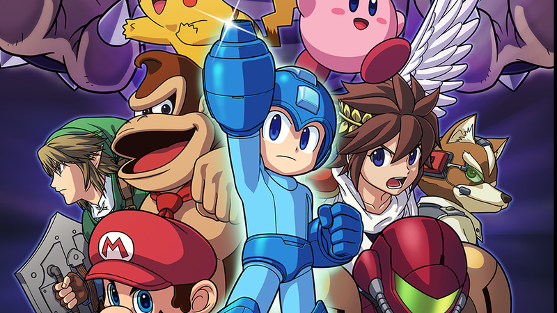 Illustration for article titled This Smash Bros. Fan Fiction Has 3.5 Million Words... So Far