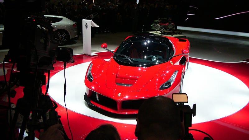 Illustration for article titled The Ferrari LaFerrari Is A 963 HP Hybrid Hypercar