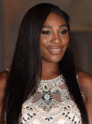 Serena Williams attends the Wimbledon Champions' Dinner at Guildhall July 12, 2015, in London. Stuart C. Wilson/Getty Images