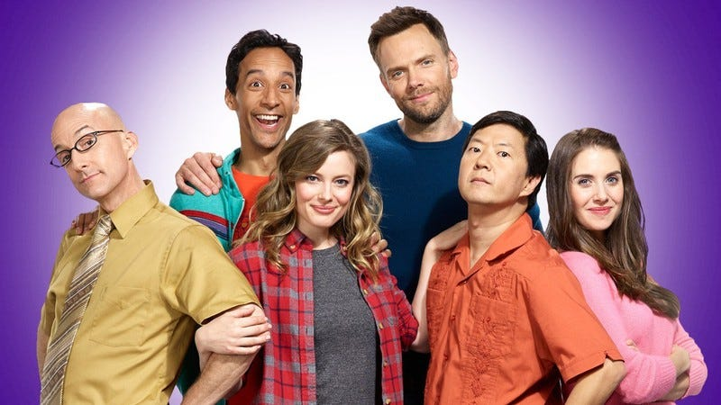 """Illustration for article titled Community completes the """"six seasons"""" part of six seasons and a movie"""