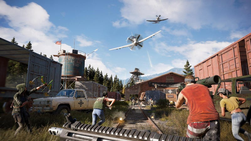 Illustration for article titled Far Cry 5 Players Have Already Made Some Decent Battle Royale Maps