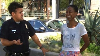 Illustration for article titled Django Unchained Actress to Cops: 'Is It Just Because I'm Black?'