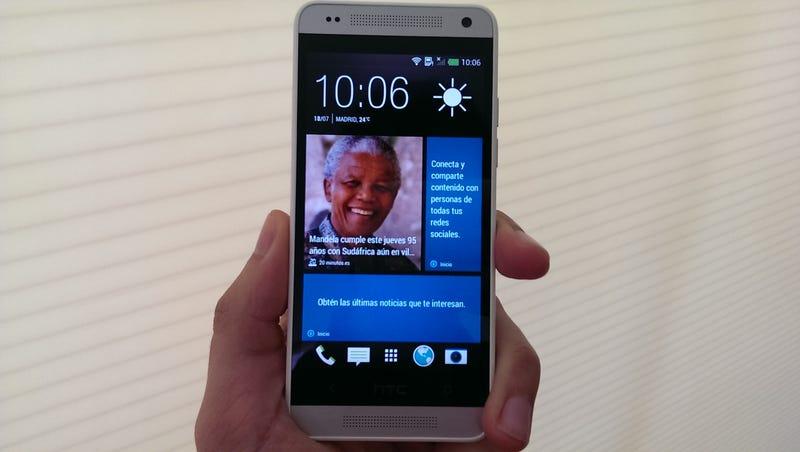 Illustration for article titled Este es el HTC One Mini: tan atractivo (o más) como su hermano mayor
