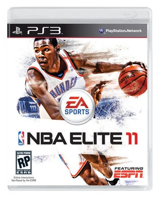Illustration for article titled Kevin Durant Gets the Cover of NBA Elite 11