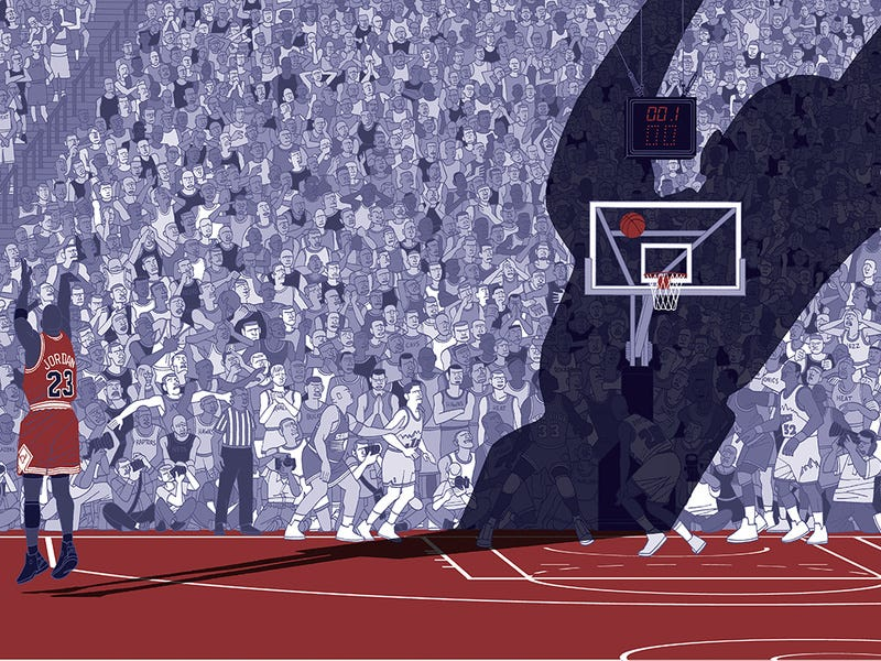Illustration for article titled The Invention Of Air: The Myths Of Young Michael Jordan, Deconstructed