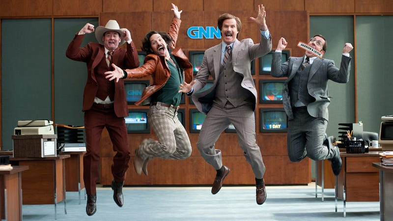 Illustration for article titled What You're Expecting, But More So: Anchorman 2, Reviewed.