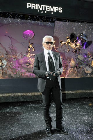 Illustration for article titled Monsieur Lagerfeld Turns His Back On The Little People