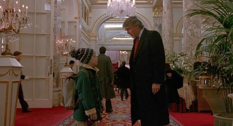 Donald Trump en Mi pobre angelito 2: Perdido en Nueva York. Imagen: YouTube