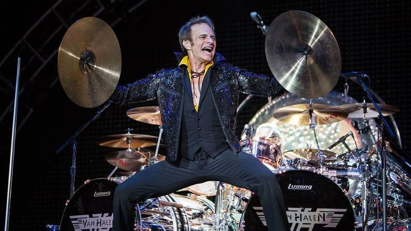 David Lee Roth performing with Van Halen (Photo: Daniel Knighton/Getty)