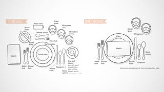 Learn to Set a Formal or Informal Table for Your Thanksgiving Meal