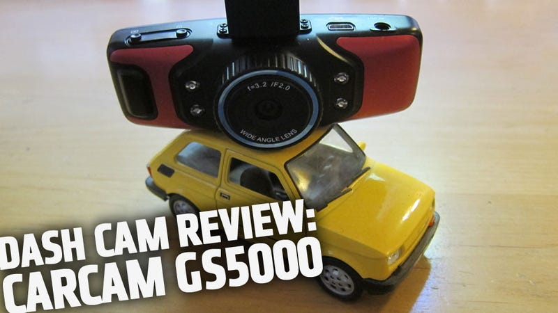 Illustration for article titled Dash Cam Review: Carcam GS5000