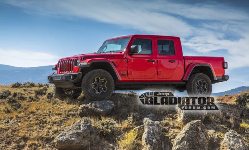 Photo Jeep Gladiator Forums Truck Yeahthe Trucks
