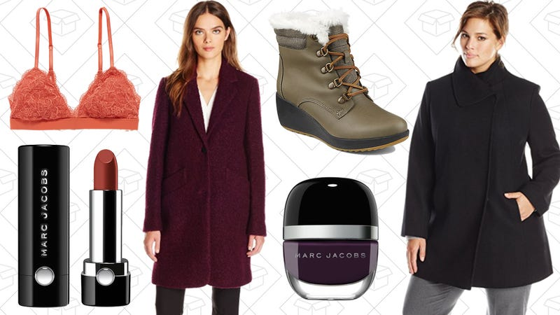Illustration for article titled Today's Best Lifestyle Deals: All The Coats, Sperry Boots, Marc Jacobs Beauty, Aerie, and More