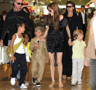 Illustration for article titled The Jolie-Pitt Clan Loves To Shop Duty-Free