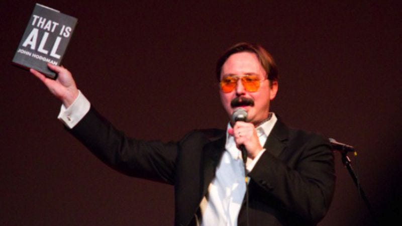 Illustration for article titled Watch John Hodgman shop willy-nilly at Amoeba Records