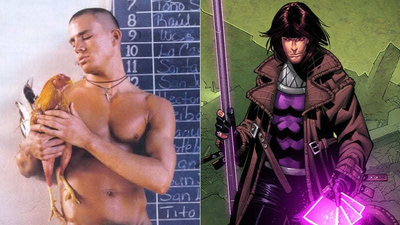 Illustration for article titled Channing Tatum Is Definitely Talking With Fox To Play X-Men's Gambit