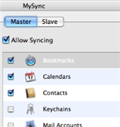 Illustration for article titled Sync your Mac with MySync
