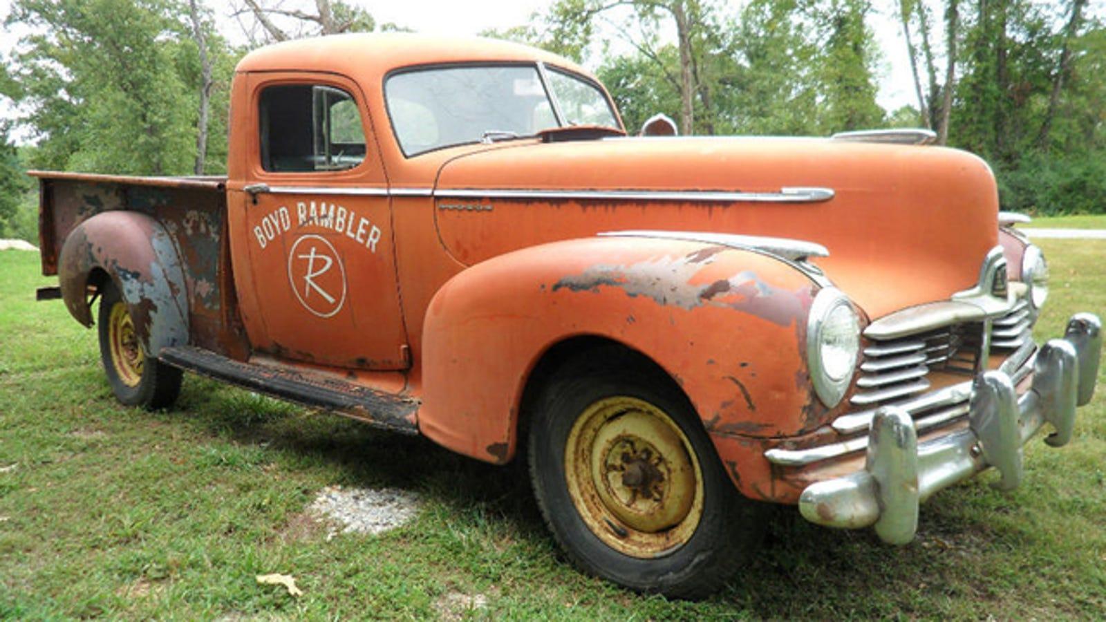 Trucks For Sale: Rare And Original 1947 Hudson Truck For Sale On Ebay
