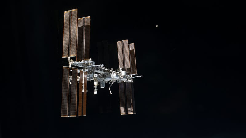 The International Space Station. (Image: NASA)