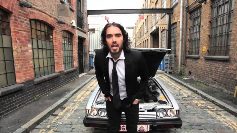 """Illustration for article titled Blur's 1994 song """"Parklife"""" becomes a battleground for Russell Brand"""