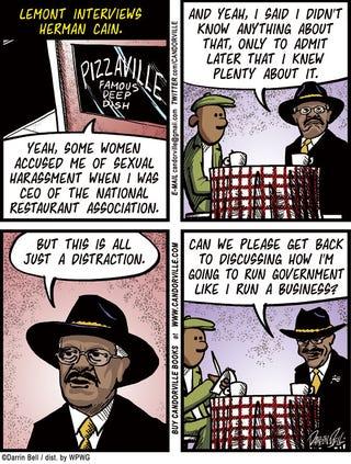 Illustration for article titled Candorville Comic: Businessman