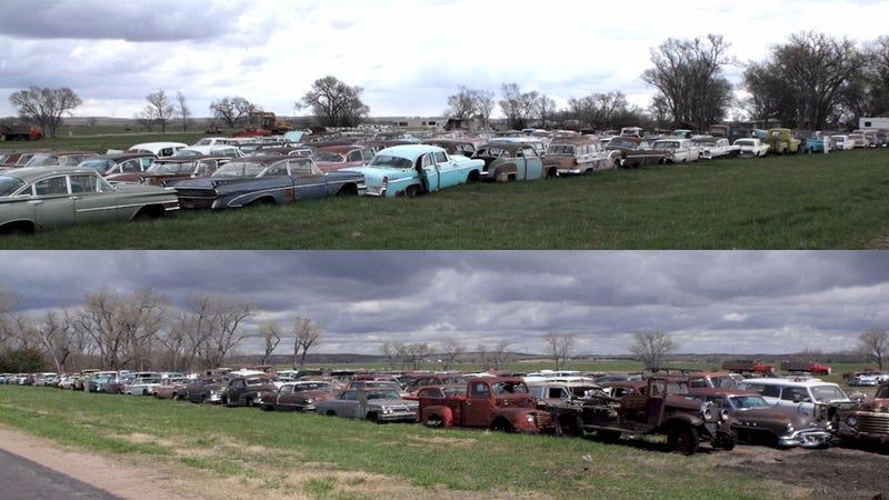 Dodge Truck Salvage Yards >> Classic cars of a huge Nebraskan junkyard get a second ...