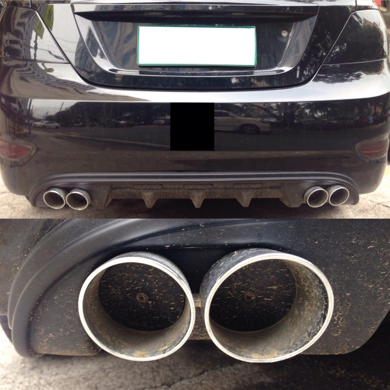 Illustration for article titled Dual exhaust on an Accent?